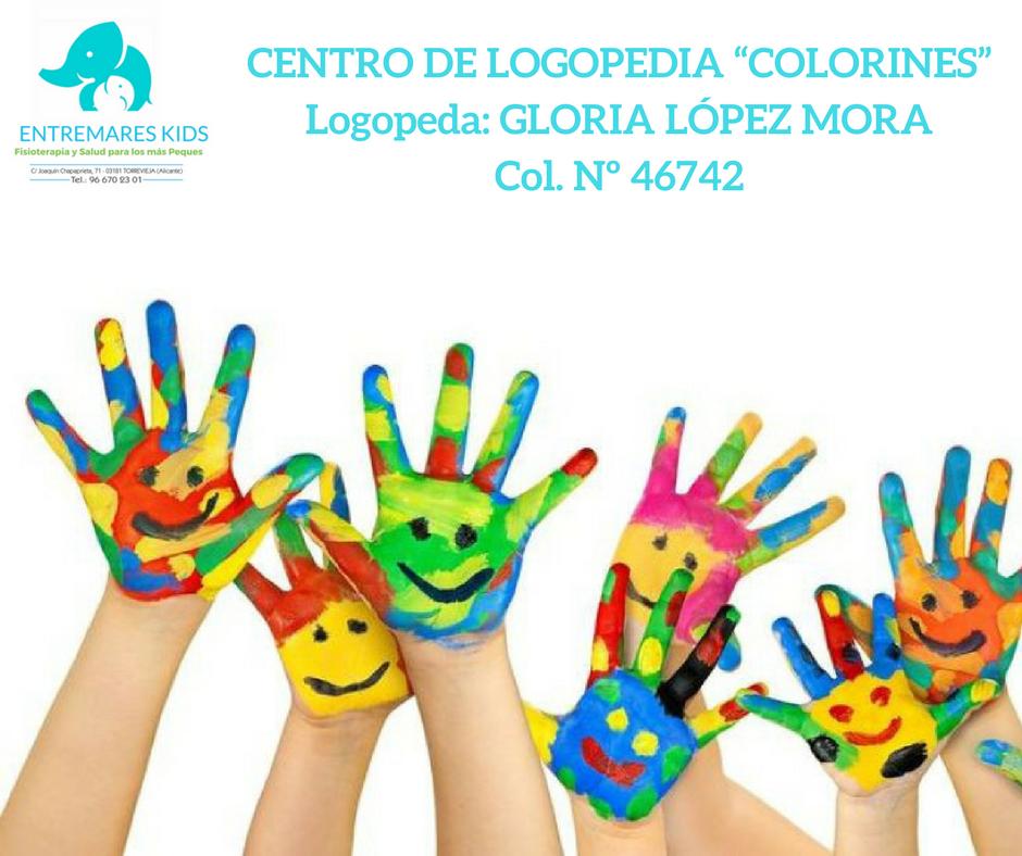CENTRO DE LOGOPEDIA COLORINES-LOGOPEDA_ GLORIA LoPEZ MORACol. N- 46742