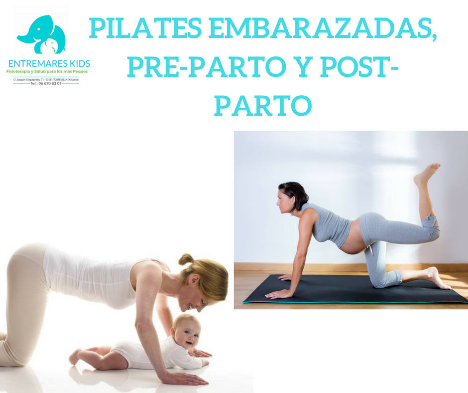 PILATES EMBARAZADAS, PRE-PARTO Y POST-PARTO